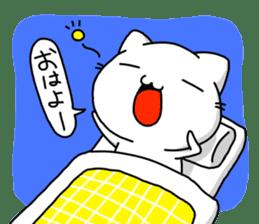 necomaru is a cat everyday sticker #1077734