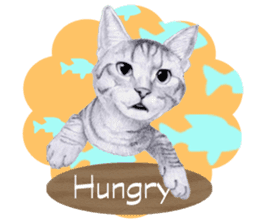My cat Tama's stickers [For English] sticker #1078448