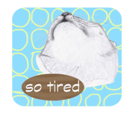 My cat Tama's stickers [For English] sticker #1078452