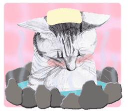 My cat Tama's stickers [For English] sticker #1078463