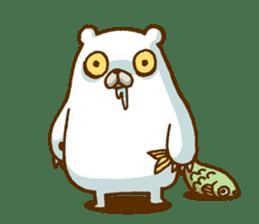 Hungry Bear sticker #1079426