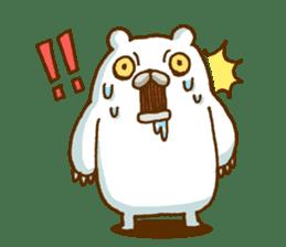 Hungry Bear sticker #1079431