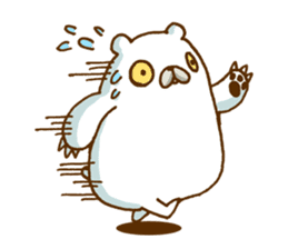 Hungry Bear sticker #1079433
