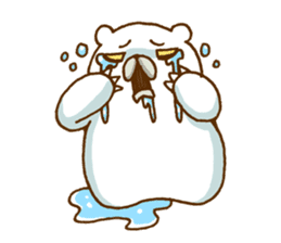 Hungry Bear sticker #1079437