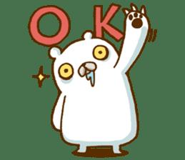 Hungry Bear sticker #1079438