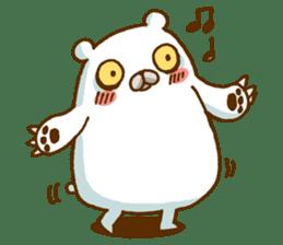 Hungry Bear sticker #1079441
