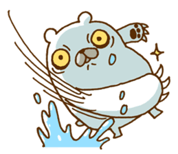 Hungry Bear sticker #1079442
