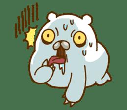 Hungry Bear sticker #1079444