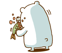 Hungry Bear sticker #1079445
