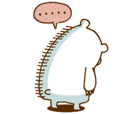 Hungry Bear sticker #1079450