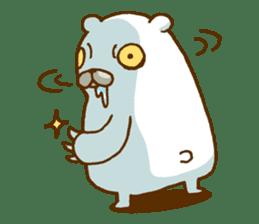 Hungry Bear sticker #1079456