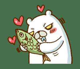 Hungry Bear sticker #1079459