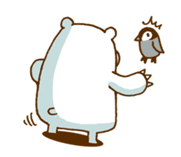 Hungry Bear sticker #1079462