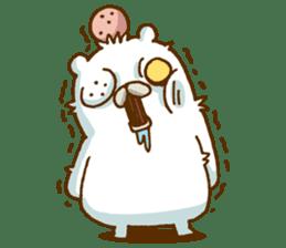 Hungry Bear sticker #1079465