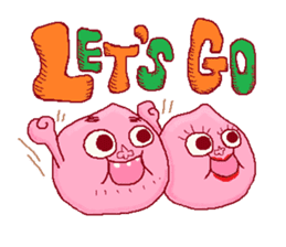 Pi-ko&Pi-taro Part2 sticker #1079986