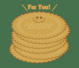 CHANYAP Biscuit sticker #1080587
