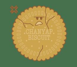 CHANYAP Biscuit sticker #1080601