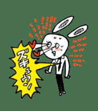 Annoying Rabbit sticker #1080906