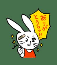 Annoying Rabbit sticker #1080907