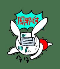 Annoying Rabbit sticker #1080908