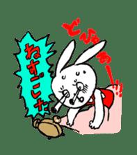 Annoying Rabbit sticker #1080911