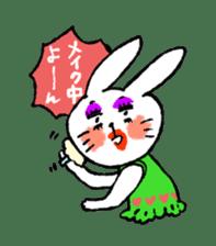 Annoying Rabbit sticker #1080913