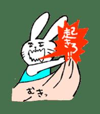 Annoying Rabbit sticker #1080915