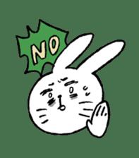 Annoying Rabbit sticker #1080919