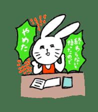 Annoying Rabbit sticker #1080922