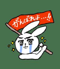 Annoying Rabbit sticker #1080929