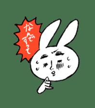 Annoying Rabbit sticker #1080931