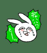 Annoying Rabbit sticker #1080934