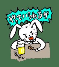 Annoying Rabbit sticker #1080935
