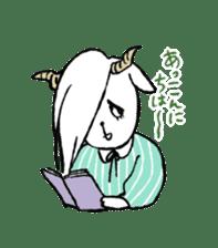 Annoying Rabbit sticker #1080942
