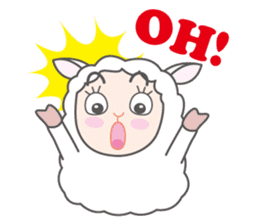 Every day of a playful sheep sticker #1081548