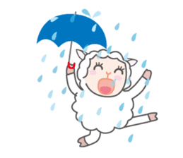 Every day of a playful sheep sticker #1081549
