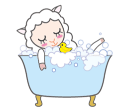 Every day of a playful sheep sticker #1081557