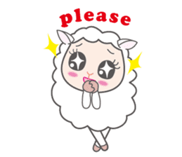 Every day of a playful sheep sticker #1081564
