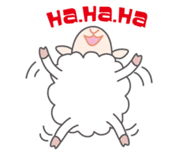Every day of a playful sheep sticker #1081566