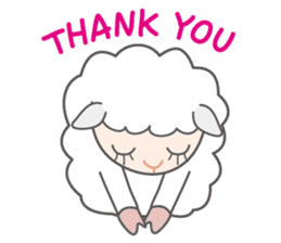 Every day of a playful sheep sticker #1081570