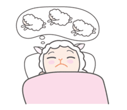 Every day of a playful sheep sticker #1081573