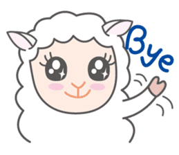 Every day of a playful sheep sticker #1081574