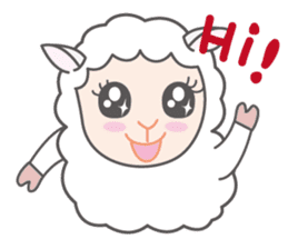 Every day of a playful sheep sticker #1081580
