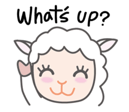 Every day of a playful sheep sticker #1081582
