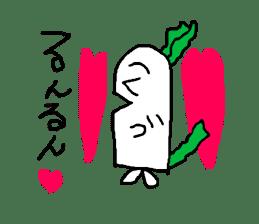 Rabbit or Radish sticker #1082308