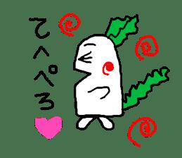 Rabbit or Radish sticker #1082314
