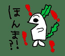 Rabbit or Radish sticker #1082333