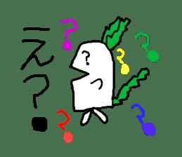 Rabbit or Radish sticker #1082335