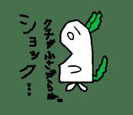 Rabbit or Radish sticker #1082336
