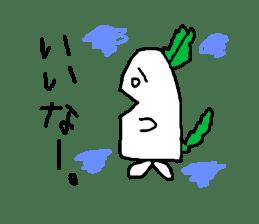 Rabbit or Radish sticker #1082344